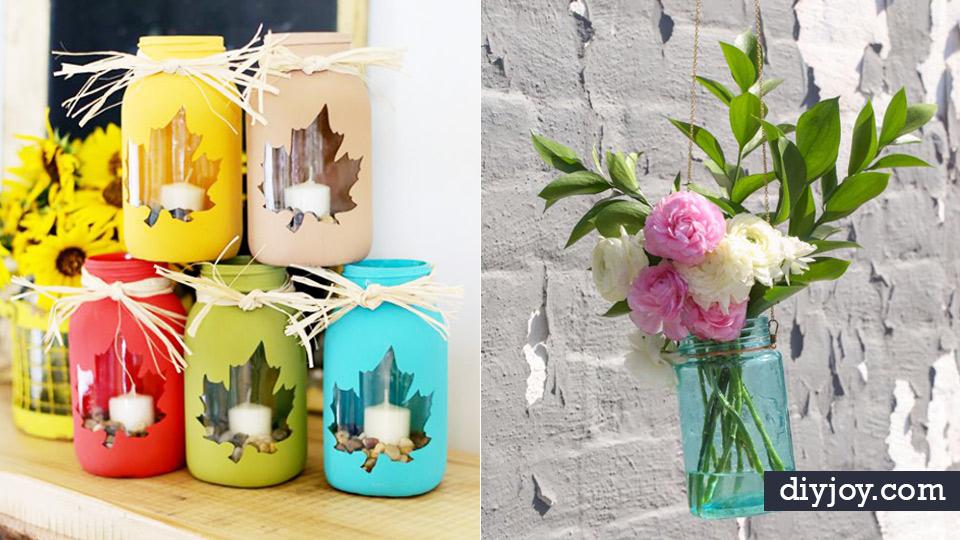 Best mason jar crafts for fall diy mason jar ideas for best mason jar crafts for fall diy mason jar ideas for centerpieces wedding decorations junglespirit Image collections
