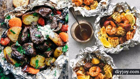 33 More Camping Tin Foil Recipes | DIY Joy Projects and Crafts Ideas