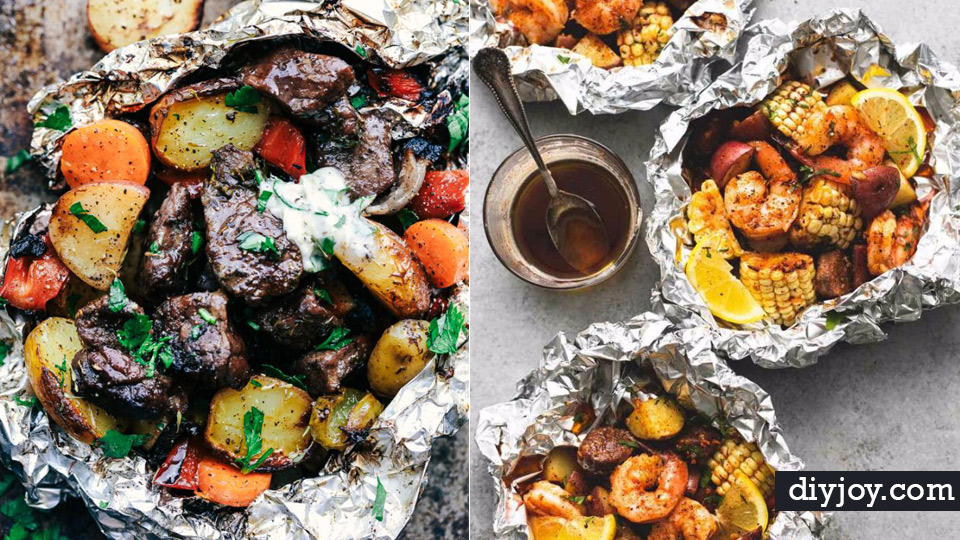 Tin Foil Camping Recipes