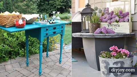 37 DIY Ideas Your Porch or Patio Needs Today | DIY Joy Projects and Crafts Ideas