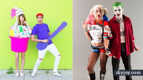 50 DIY Halloween Costumes for Couples | DIY Joy Projects and Crafts Ideas