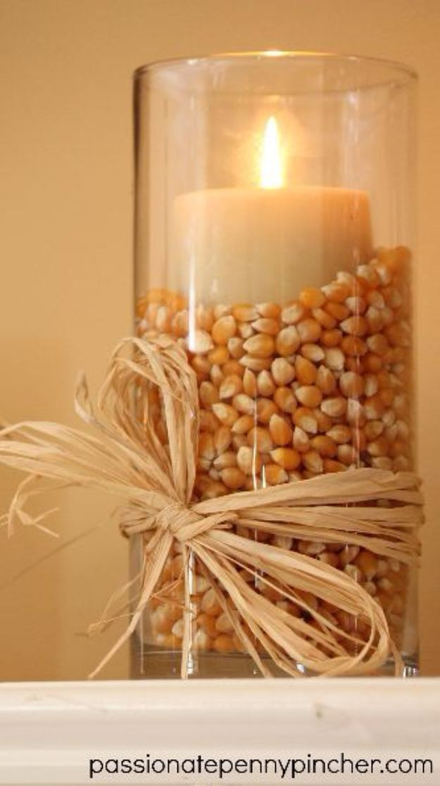 Best Crafts for Fall - $6 Decorating At The Dollar Tree - DIY Mason Jar Ideas, Dollar Store Crafts, Rustic Pumpkin Ideas, Wreaths, Candles and Wall Art, Centerpieces, Wedding Decorations, Homemade Gifts, Craft Projects with Leaves, Flowers and Burlap, Painted Art, Candles and Luminaries for Cool Home Decor - Quick and Easy Projects With Step by Step Tutorials and Instructions