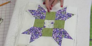 She Cuts Small Squares And Ones With Points And Makes An Incredibly Beautiful Item!