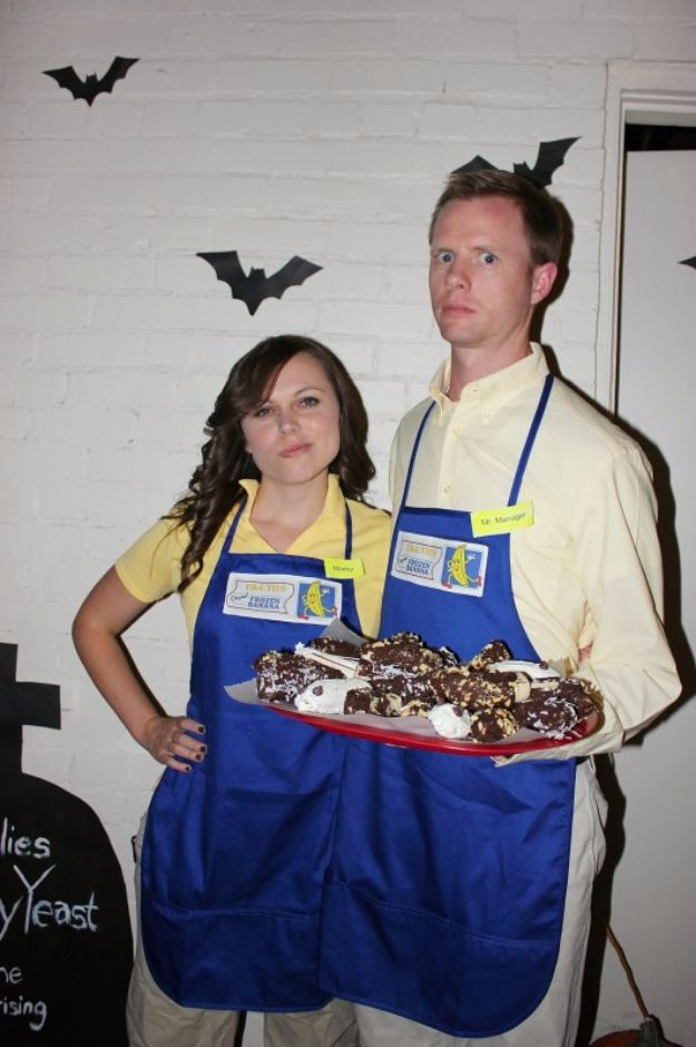 DIY Halloween Costumes for Couples - Arrested Development - Funny, Creative and Scary Ideas for Parties, College Party - Unique and Cute Project Idea for Disney Characters, Superhero, Movie Themes, Bonnie and Clyde, Homemade Costume Projects for Boyfriends - Quick Last Minutes Halloween Costume Ideas from Pinterest http://diyjoy.com/best-halloween-costumes-couples