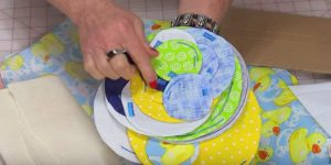 She Cuts Circles In Several Sizes And What She Does With Them Is So Unique. Watch!