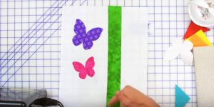 She Arranges Butterflies, Tulips And Triangles. You'll Definitely Have To Make This!