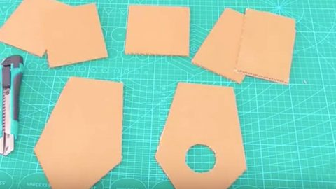 He Cuts Pieces Of Cardboard And What He Does Next Is Clever–You'll Want At Least One! | DIY Joy Projects and Crafts Ideas