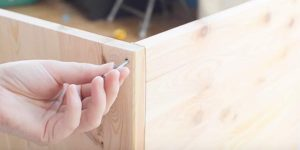 She Takes 5 Sheets Of Wood, Measures Them And Makes A Brilliant Much Needed Item!