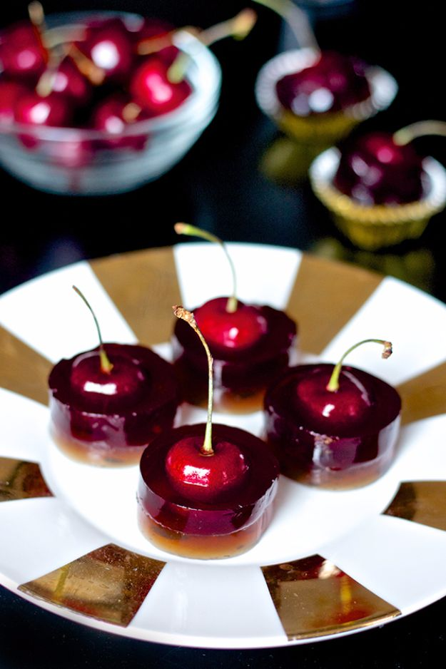 Best Jello Shot Recipes - Cherry Cola Jello Shots - Easy Jello Shots Recipe Ideas with Vodka, Strawberry, Tequila, Rum, Jolly Rancher and Creative Alcohol - Unique and Fun Drinks for Parties like Whiskey Fireball, Fall Halloween Versions, Malibu, 4th of July, Birthday, Summer, Christmas and Birthdays http://diyjoy.com/best-jello-shot-recipes