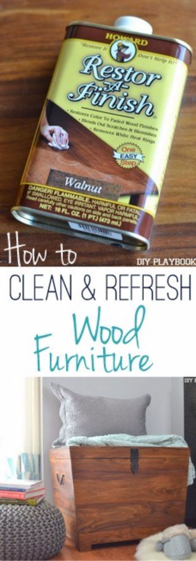 Cool Woodworking Tips - Clean And Refresh Wood Furniture - Easy Woodworking Ideas, Woodworking Tips and Tricks, Woodworking Tips For Beginners, Basic Guide For Woodworking - Refinishing Wood, Sanding and Staining, Cleaning Wood and Upcycling Pallets #woodworking