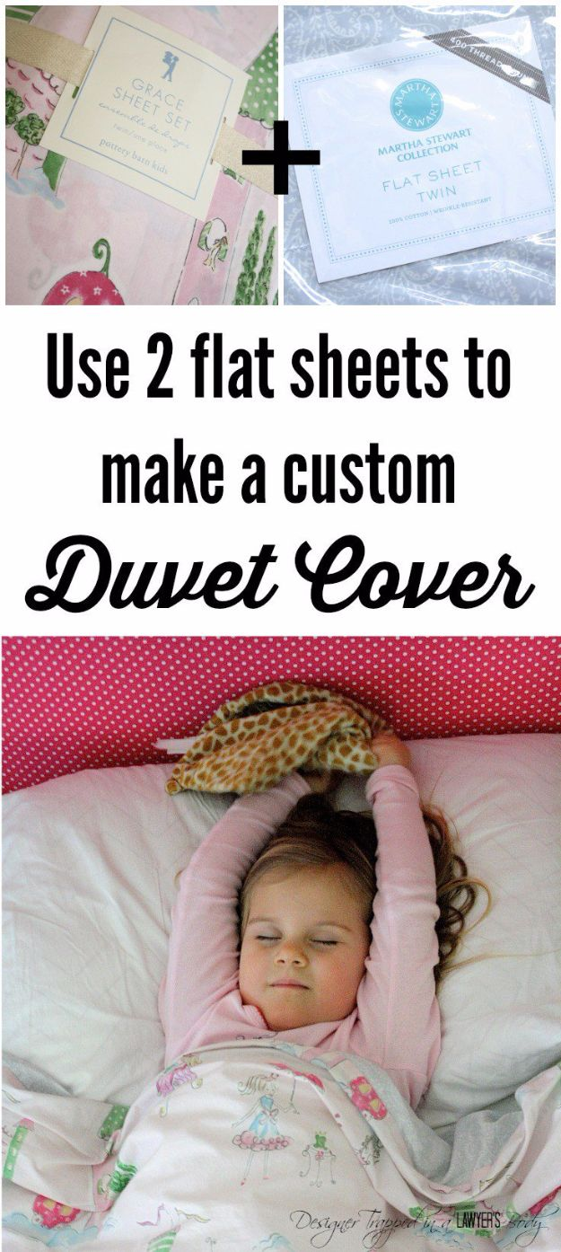 DIY Duvet Covers - Custom Duvet Cover - Easy Sewing Projects and No Sew Ideas for Duvets - Cheap Bedroom Decor Ideas on A Budget - How To Sew A Duvet Cover and Bedding Tutorial - Creative Covers for Bed - Quick Projects for Making Designer Duvets - Awesome Home Decor Ideas and Crafts #duvet #diybedroom #roomdecor #sewingideas