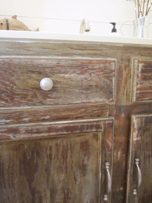 Cool Woodworking Tips - DIY Barn Wood Cabinets - Easy Woodworking Ideas, Woodworking Tips and Tricks, Woodworking Tips For Beginners, Basic Guide For Woodworking - Refinishing Wood, Sanding and Staining, Cleaning Wood and Upcycling Pallets #woodworking