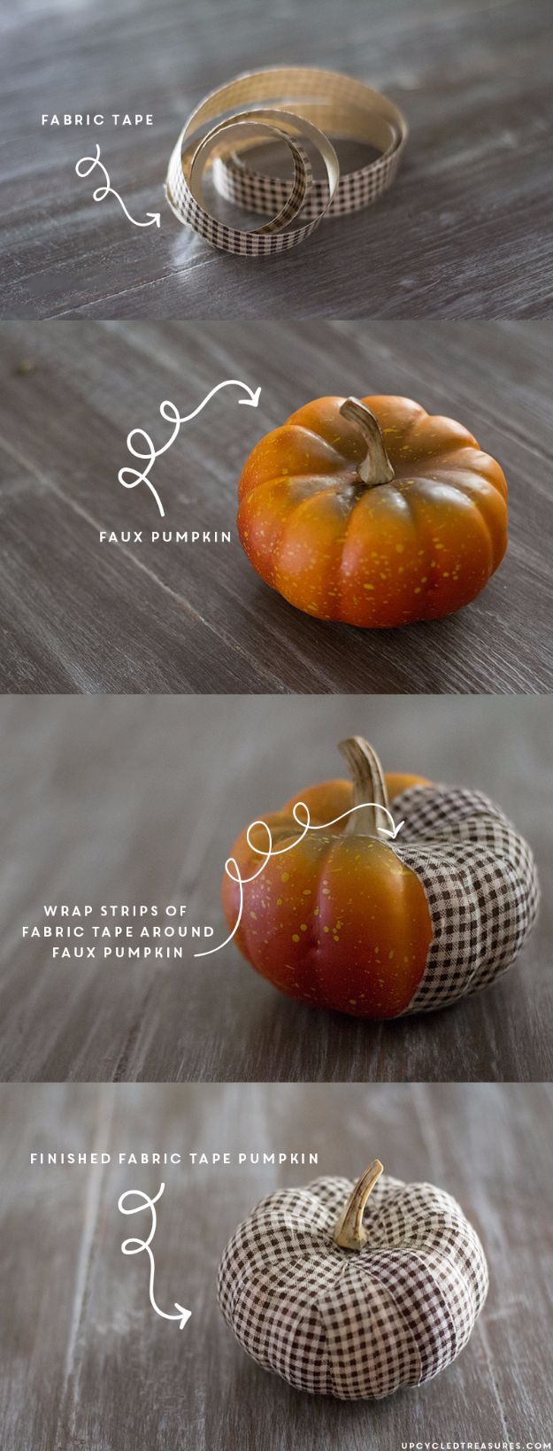 Best Crafts for Fall - DIY Fabric Tape Pumpkin - DIY Mason Jar Ideas, Dollar Store Crafts, Rustic Pumpkin Ideas, Wreaths, Candles and Wall Art, Centerpieces, Wedding Decorations, Homemade Gifts, Craft Projects with Leaves, Flowers and Burlap, Painted Art, Candles and Luminaries for Cool Home Decor - Quick and Easy Projects With Step by Step Tutorials and Instructions