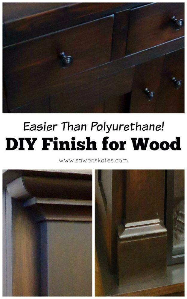 Cool Woodworking Tips - DIY Finish for Wood - Easy Woodworking Ideas, Woodworking Tips and Tricks, Woodworking Tips For Beginners, Basic Guide For Woodworking - Refinishing Wood, Sanding and Staining, Cleaning Wood and Upcycling Pallets #woodworking