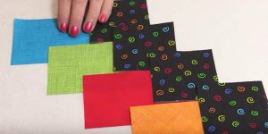 What She Does With These Colorful Squares Is Something You'll Have To Make. Watch!