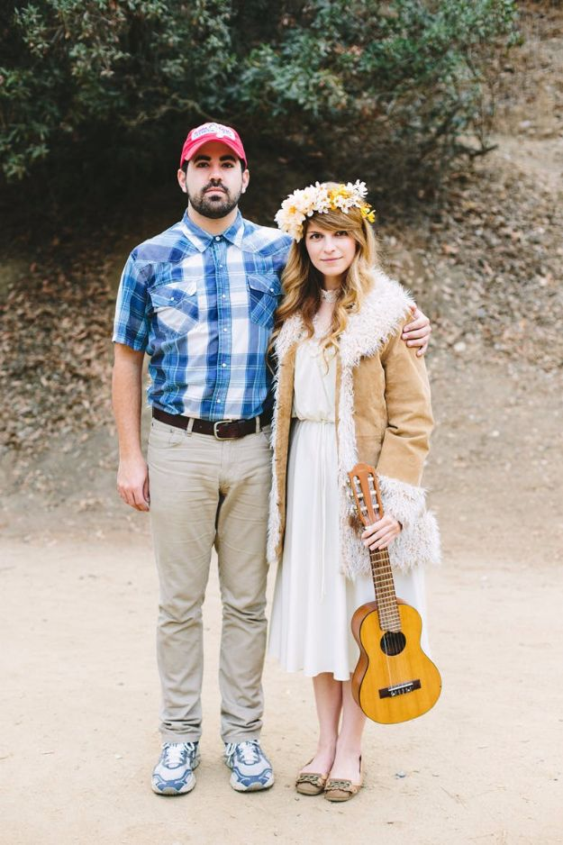 DIY Halloween Costumes for Couples - Forrest Gump And Jenny - Funny, Creative and Scary Ideas for Parties, College Party - Unique and Cute Project Idea for Disney Characters, Superhero, Movie Themes, Bonnie and Clyde, Homemade Costume Projects for Boyfriends - Quick Last Minutes Halloween Costume Ideas from Pinterest #halloween #halloweencostumes