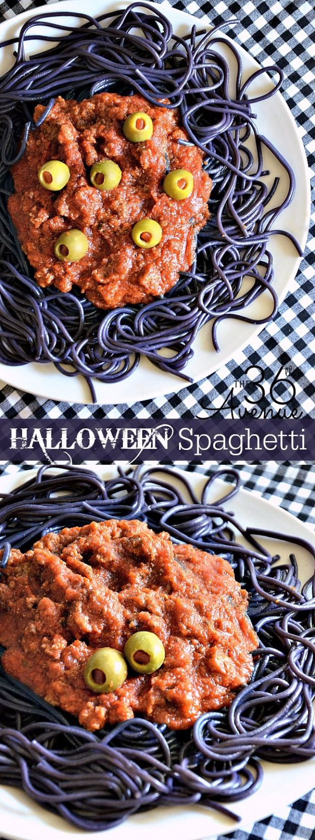 Best Halloween Party Snacks - Halloween Spaghetti - Healthy Ideas for Kids for School, Teens and Adults - Easy and Quick Recipes and Idea for Dips, Chips, Spooky Cookies and Treats - Appetizers and Finger Foods Made With Vegetables, No Candy, Cheap Food, Scary DIY Party Foods With Step by Step Tutorials http://diyjoy.com/halloween-party-snacks