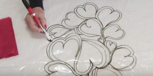 She Draws Hearts On Plastic — Watch Why And How She Does This. You'll Heart It!