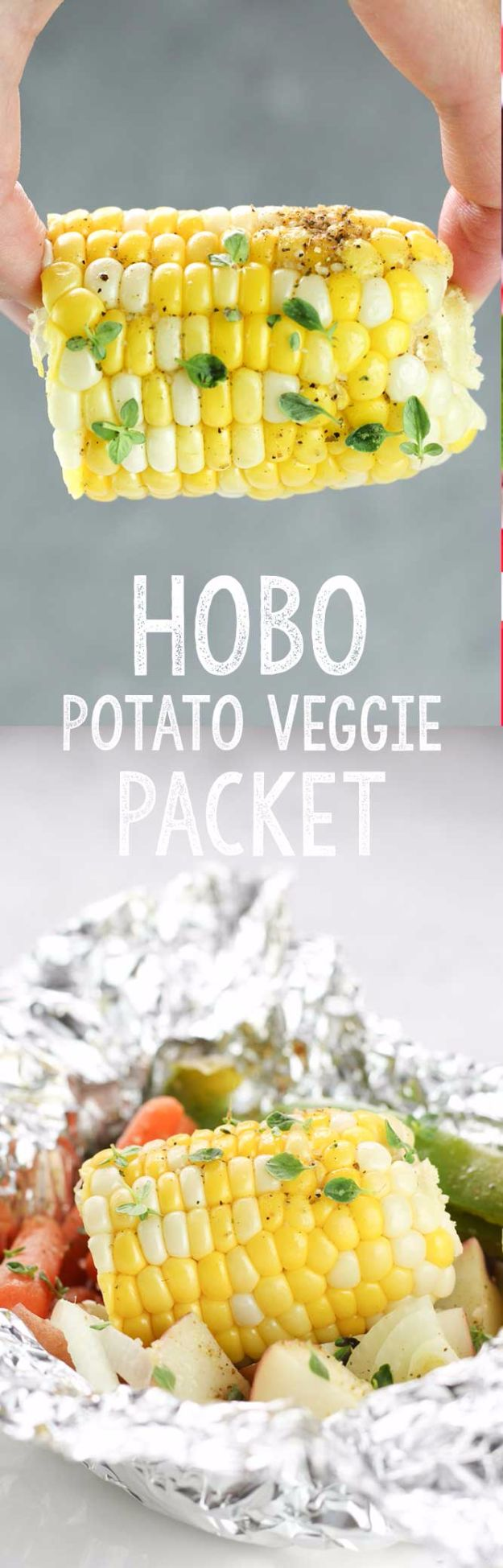Tin Foil Camping Recipes - Hobo Potato Veggie Packets - DIY Tin Foil Dinners, Ideas for Camping Trips and On Grill. Hamburger, Chicken, Healthy, Fish, Steak , Easy Make Ahead Recipe Ideas for the Campfire. Breakfast, Lunch, Dinner and Dessert, Snacks all Wrapped in Foil for Quick Cooking #camping #tinfoilrecipes #campingrecipes