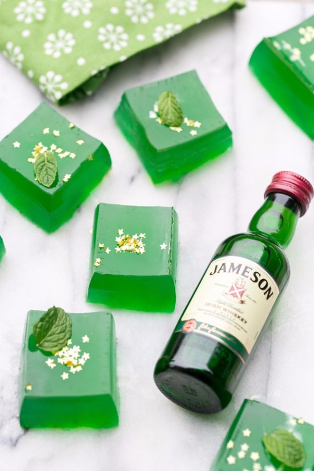 Best Jello Shot Recipes - Jameson Jello Shots - Easy Jello Shots Recipe Ideas with Vodka, Strawberry, Tequila, Rum, Jolly Rancher and Creative Alcohol - Unique and Fun Drinks for Parties like Whiskey Fireball, Fall Halloween Versions, Malibu, 4th of July, Birthday, Summer, Christmas and Birthdays #jelloshots #partydrinks #drinkrecipes
