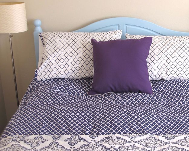 DIY Duvet Covers - Make a Duvet Cover and Matching Shams - Easy Sewing Projects and No Sew Ideas for Duvets - Cheap Bedroom Decor Ideas on A Budget - How To Sew A Duvet Cover and Bedding Tutorial - Creative Covers for Bed - Quick Projects for Making Designer Duvets - Awesome Home Decor Ideas and Crafts #duvet #diybedroom #roomdecor #sewingideas