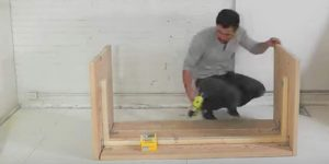 He Nails Several 2×10's Together, Quickly Creating An Item You Might Just Need. Watch!