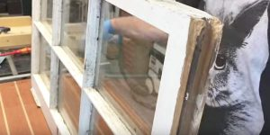 He Takes A 4 x 8 Sheet Of Plywood, Takes Something Old And Gives It New Life Again!