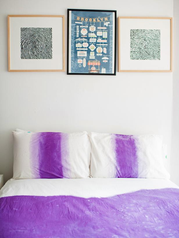DIY Duvet Covers - Ombre Dip-Dye a Duvet Cover - Easy Sewing Projects and No Sew Ideas for Duvets - Cheap Bedroom Decor Ideas on A Budget - How To Sew A Duvet Cover and Bedding Tutorial - Creative Covers for Bed - Quick Projects for Making Designer Duvets - Awesome Home Decor Ideas and Crafts #duvet #diybedroom #roomdecor #sewingideas