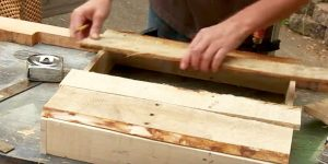 He Nails 4 Pallet Boards, Lays A Few Boards On Top Of That. Watch What He Does Next!
