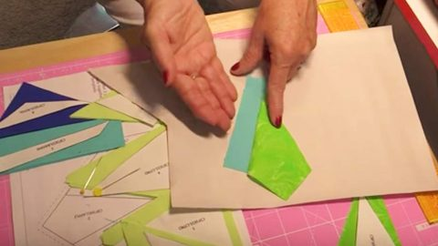 She Cuts Fabric To Match The Drawing–You'll Want To Do This Magical Little Secret! | DIY Joy Projects and Crafts Ideas