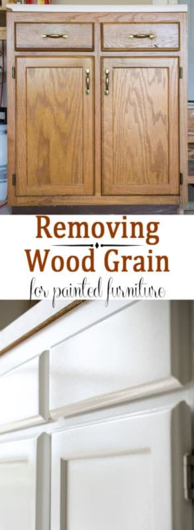 Cool Woodworking Tips - Remove Wood Grain Texture - Easy Woodworking Ideas, Woodworking Tips and Tricks, Woodworking Tips For Beginners, Basic Guide For Woodworking - Refinishing Wood, Sanding and Staining, Cleaning Wood and Upcycling Pallets #woodworking