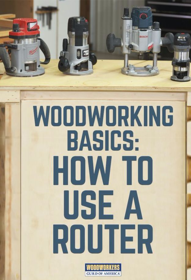 Cool Woodworking Tips - Router Woodworking Basics - Easy Woodworking Ideas, Woodworking Tips and Tricks, Woodworking Tips For Beginners, Basic Guide For Woodworking - Refinishing Wood, Sanding and Staining, Cleaning Wood and Upcycling Pallets #woodworking