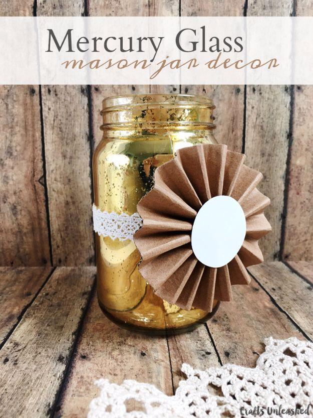 Mason Jar Vase Ideas Floral Arrangements