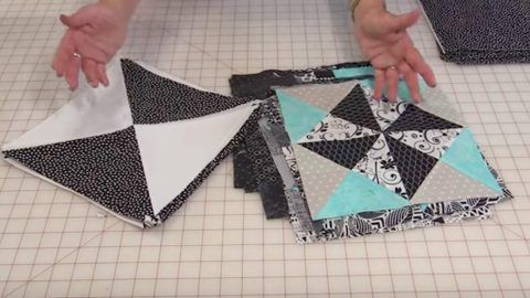 She Places 18 Great Blocks Together In Rows For A Quilt You Will Have To Make!   DIY Joy Projects and Crafts Ideas