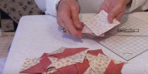 She Sews A Bunch Of Triangles Together And What She Does Next Is So Charming. Watch!