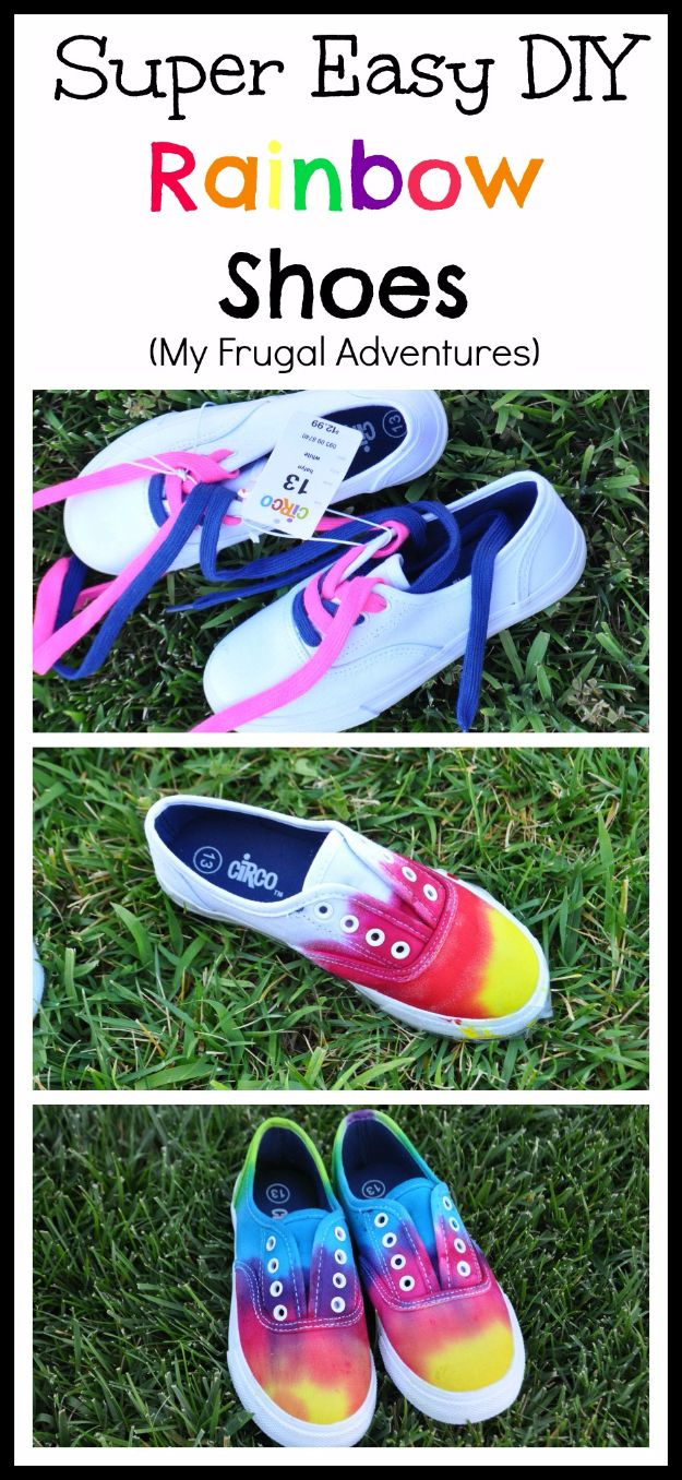 33 Diy Ideas For Upgrading Your Tennis Shoes
