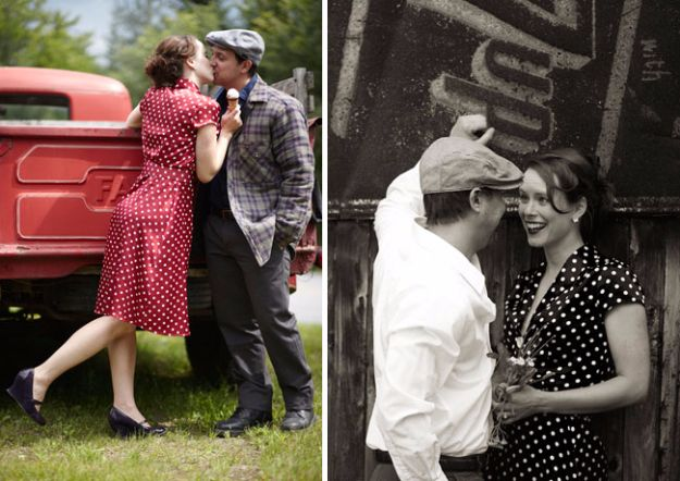 DIY Halloween Costumes for Couples - The Notebook Costume - Funny, Creative and Scary Ideas for Parties, College Party - Unique and Cute Project Idea for Disney Characters, Superhero, Movie Themes, Bonnie and Clyde, Homemade Costume Projects for Boyfriends - Quick Last Minutes Halloween Costume Ideas from Pinterest http://diyjoy.com/best-halloween-costumes-couples