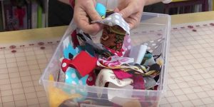 She Gathers Her Scraps, Sews Them Together And Makes An Item That Is Priceless!