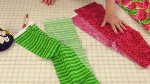 Sewing Tutorial: How to Make A Watermelon Apron