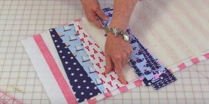 She Cuts Her Fabric Into Triangles And Makes An Item You Will Definitely Love!