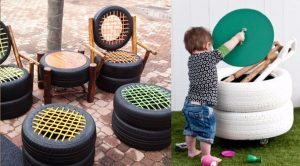 32 DIY Ideas Made With Old Tires