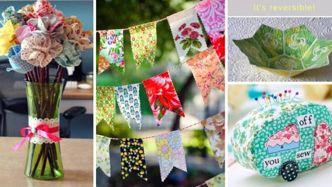 33 Projects Ideas To Make From Quilting Scraps | DIY Joy Projects and Crafts Ideas