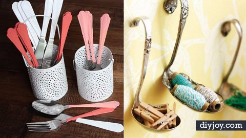 30 Creative Things You Should Do With Old Silverware   DIY Joy Projects and Crafts Ideas