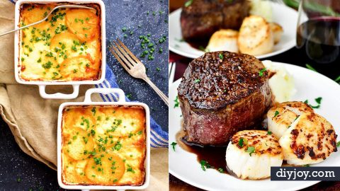 33 Easy Dinner Recipes For Two | DIY Joy Projects and Crafts Ideas