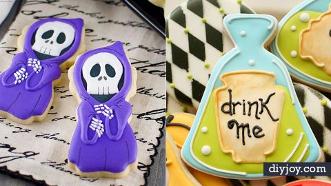 35 Halloween Cookie Recipes and Decorating Ideas | DIY Joy Projects and Crafts Ideas