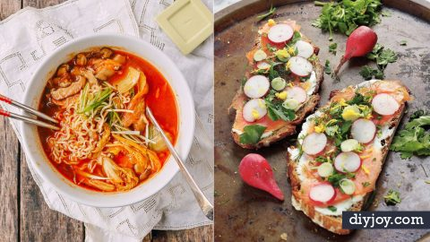 37 Easy Dinners for One | DIY Joy Projects and Crafts Ideas