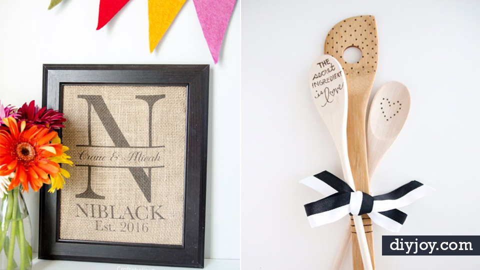 Affordable Wedding Gift Ideas: 37 Expensive Looking DIY Wedding Gifts That Are Sure To