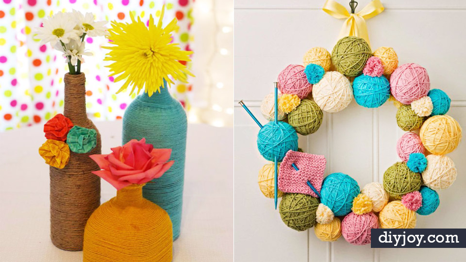 Diy Ideas With Yarn And Best Yarn Crafts Wall Hangings Easy Dream