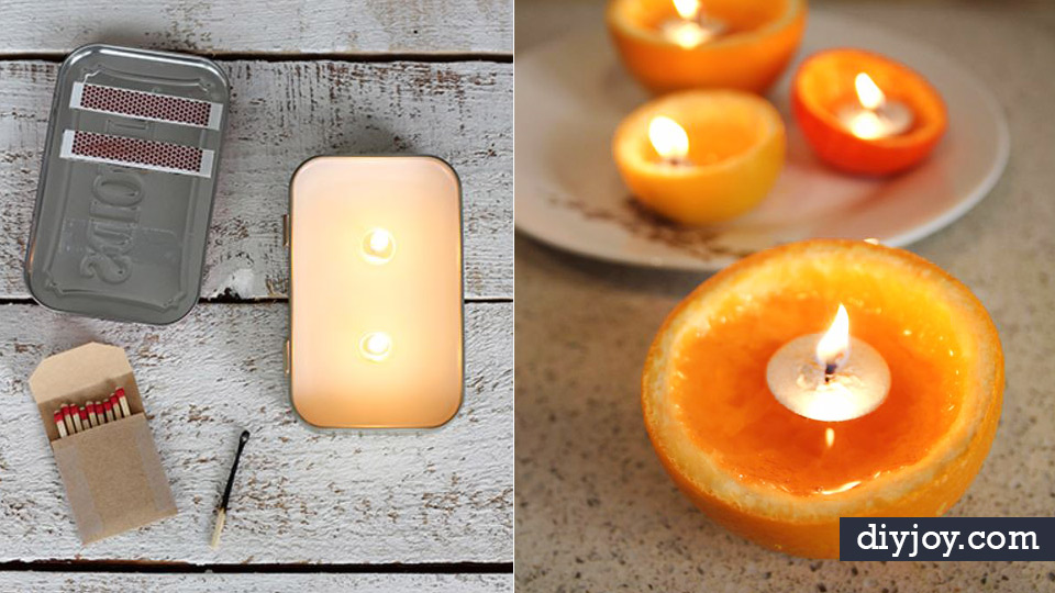 DIY Ideas for Candles - Cute, Cheap and Creative Ways to Decorate ...