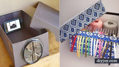 43 Creative DIY Ideas With Old Shoe Boxes | DIY Joy Projects and Crafts Ideas